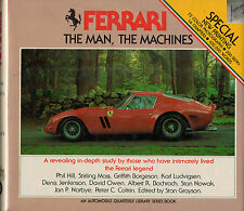 FERRARI THE MAN THE MACHINES BOOK AUTOMOBILE QUARTERLY GRAYSON FIRST EDITION