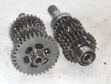 80-82 KAWASAKI KZ440 KZ 440 TRANSMISSION PRIMARY & SECONDARY OUTPUT SHAFTS