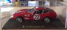 """DIE CAST """" FERRARI 365 GTB4 COMPETIZIONE - 1971 """" SCALA 1/24  LE GRANDI FERRARI"""