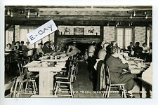 Westminster MA Mass RPPC real photo people dining, retro clothes 1950's?