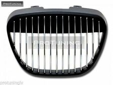 SEAT IBIZA CORDOBA 6L 02-08 BLACK SPORT BADGELESS FRONT GRILL GRILLE DEBADGED RS