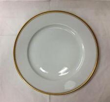 "ROSENTHAL ""ROSANNA"" DINNER PLATE 10 1/2"" GOLD/CLASSIC ROSE PORCELAIN GERMANY NEW"