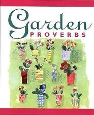 Book Mini, Garden Proverbs Terry Bergen Deep Advice Enjoyment Life Wisdom NO Fob