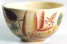 Home Trends Bowls Set of 2 Shadowwood Ceramic Soup Cereal Ice Cream Fall Leaves