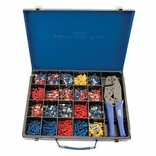 Draper Expert Electrical Cable Crimping Tool And 590 Terminals Kit - 56383