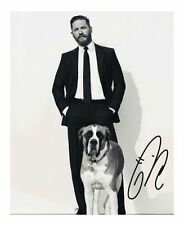 TOM HARDY AUTOGRAPHED SIGNED A4 PP POSTER PHOTO 3