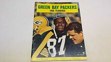 GREEN BAY PACKERS 1966 YEARBOOK WITH 34 ORIGINAL AUTOGRAPHS RARE & SPECIAL!
