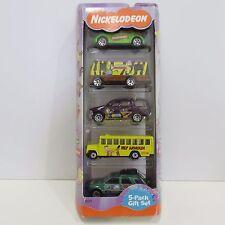 2000 Matchbox Nichelodeon 5 Diecast Cars Gift Pack, New in Box