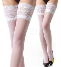 Sexy Fashion Woman 5 In/13CM Lace Top Thigh-Highs Stockings Pantyhose-15 Colors
