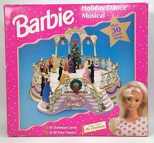 MR. CHRISTMAS BARBIE HOLIDAY DANCE MUSICAL PLAYS 30 CLASSIC SONGS NRFB