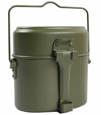 New Army Soldier Military Mess Kit Lunch Box Food Canteen Kettle Pot Bowl Cup