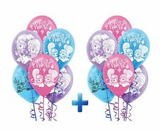 Shimmer and Shine Genies Latex Balloons Birthday Party Decoration Supplies ~ 12