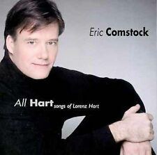 NEW CD: All Hart: Songs of Lorenz Hart: Eric Comstock: SEALED WITH A HOLE IN UPC