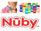NUBY NO SPILL 10 oz GRIP N SIP SOFT SPOUT GRIPPER SIPPY CUP STEP 2 BPA FREE 6 M+