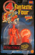 Human Torch - Toy Biz / Marvel Superheroes - Fantastic Four Figure - 1994 - MOSC