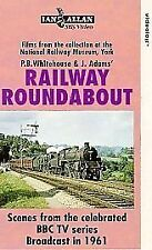 Railway Roundabout 1961 (VHS) ~ Steam Railway VHS Video Tape ~ BBC TV ~ NRM
