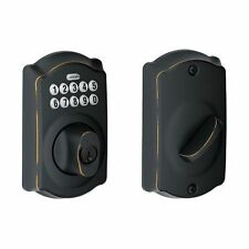 Schlage BE365V-CAM Electronic Deadbolt From the Camelot Series