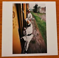 "SIGNED - STEVE MCCURRY PAKISTAN TEA ON TRAIN LTD 6"" x 6"" MAGNUM ARCHIVAL PRINT"