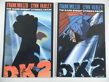 BATMAN The Dark Knight Strikes Again #1 & 2 1st Printings Frank Miller