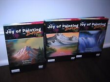 Bob Ross DVDs The Joy of Painting: Lakes, Waterfalls, Mountains 6 Disc Set