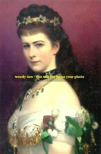 mm0309 - Empress Elizabeth ( Sisi ) of Austria - photograph