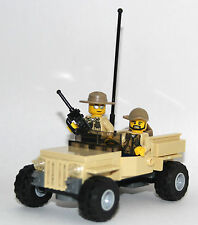 LEGO ORIGINAL JEEP - car ( from 76003 ) + 2 TEXAS RANGERS POLICE guys ALL LEGO