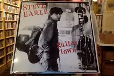Steve Earle Guitar Town LP sealed vinyl RE reissue