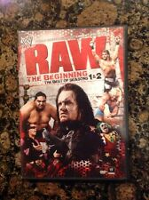 WWE: Raw - The Beginning -The Best of Seasons 1 & 2(DVD,2-Disc) Authentic US