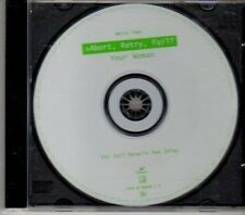 (CY304) Abort Retry Fail?, Your Woman - 1997 CD