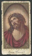 Estampa antigua del Ecce Homo andachtsbild santino holy card santini