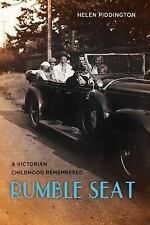 Rumble Seat: A Victorian Childhood Remembered-ExLibrary