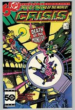 Crisis on Infinite Earths #4 1985 C6404) 1st Appearance of Lady Quark, Dr. Light