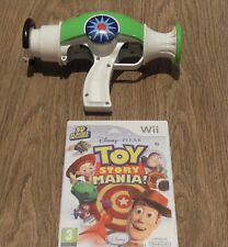 Toy STORY MANIA + ufficiale Toy Story Ray Gun/Zapper = Nintendo Wii = WOODY BUZZ = = FILM