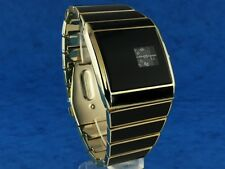 Anni 70 Anni'70 Retrò Vintage Stile rotolog LED DIGITALE LCD epoca Watch JUMP HOUR G