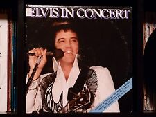 Elvis Presley - Elvis In Concert ♫ RARE Near Mint RCA Records US Vinyl 2xLP ♫