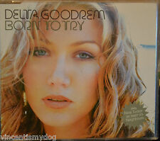 DELTA GOODREM- BORN TO TRY (3 track CD single and video)