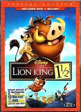 Disney The Lion King 1 1/2 - Blu-ray + Dvd - 2-Disc Special Edition USA New