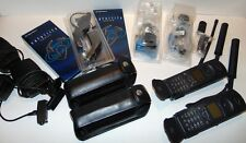 motorola iridium 9500 phones lot (2 phones with everything in pictures)