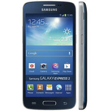 SIM Free Samsung Galaxy Express 2 Unlocked 8GB Android Smartphone - Rigel Blue