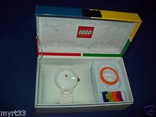 Lego 9007477 WHITE BRICK WATCH Adult / Teen New Buidlable watch  interchange NIB