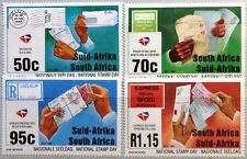 RSA SÜDAFRIKA SOUTH AFRICA 1994 940-43 Natl. Briefmarkentag Stamp Day Post MNH