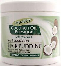 PALMER'S COCONUT OIL FORMULA CURL CONDITION HAIR PUDDING VITAMIN E KERATIN 14 OZ