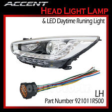 LED OEM Projection Day Light Head Light Lamp (LH) for 2012-2014 Hyundai ACCENT