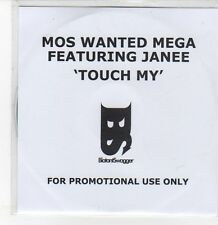 (DQ886) Touch My, Mos Wanted Mega ft Janee - 2009 DJ CD