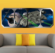 STAR WARS  IMPERIAL AMBUSH   !!!    GIANT WINDOW VIEW   PRINTED POSTER