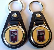 FORD MUSTANG 1966 GT 289 KEYCHAIN 2 PACK FOB MUSCLE CAR EMBLEM LOGO