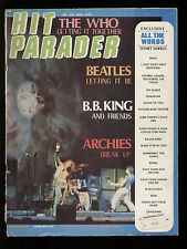 HIT PARADER 75/1970 WHO BEATLES MAYALL CANNED HEAT LULU MAURICE GIBB AIR FORCE