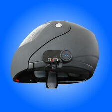 Bluetooth Headset Intercom For Motorcycles Rider to Rider 800 M Range