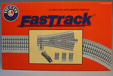 LIONEL FASTRACK 0-72 REMOTE WYE SWITCH train track turnout 072 22.5 6-12047