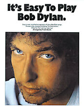 Easy To Play Bob Dylan Learn FOREVER YOUNG Folk Piano Guitar PVG Music Book